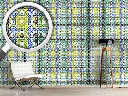 Design Wallpaper Textile Impression