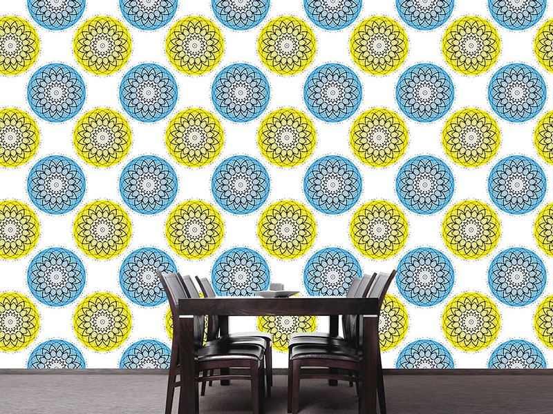 Design Wallpaper Atomic Illusion