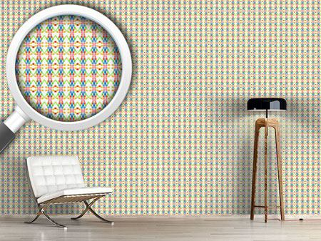Design Wallpaper Mesh Mosaic