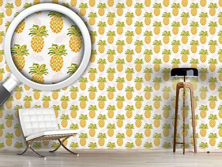 Design Wallpaper I Want Pineapples