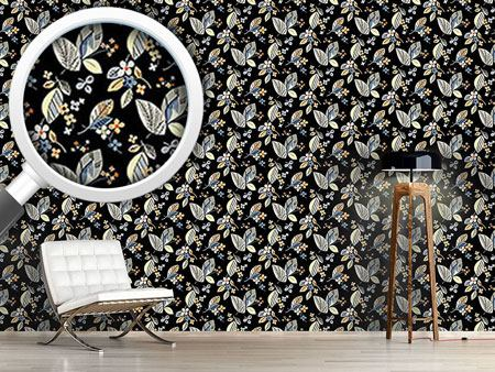 Design Wallpaper Vintage Floral