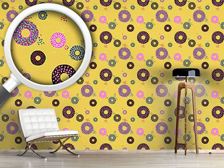 Design Wallpaper Donuts