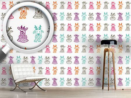 Design Wallpaper Rudolf And Friends