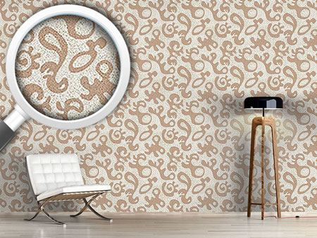Design Wallpaper Forms and Dots