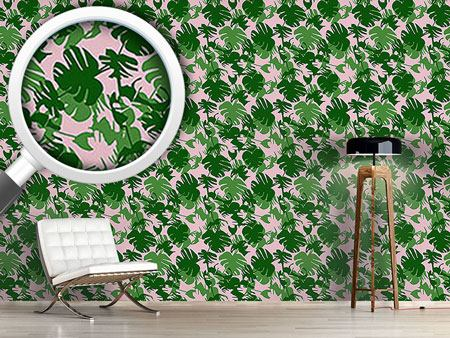 Papier peint design Monstera Deliciosa