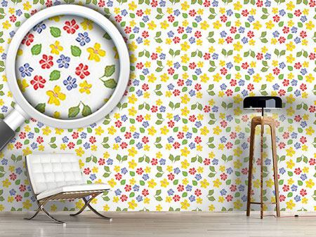 Design Wallpaper My Cottage Flowers