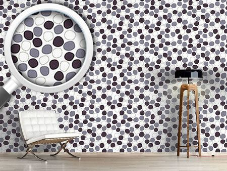 Papier peint design Gently Floating Dots