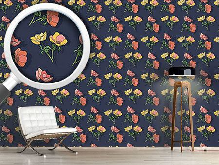 Design Wallpaper Pretty Anemones