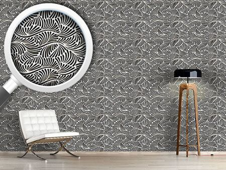 Design Wallpaper Curlicues on the High Seas