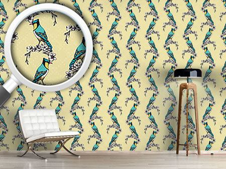 Design Wallpaper Bird Beauty