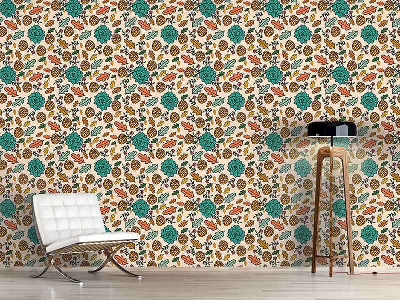 Papel tapiz de diseño Autumn Beauties