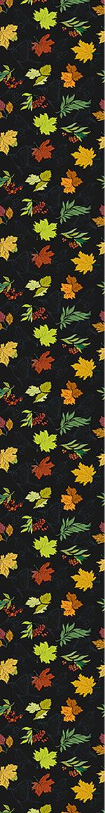 Papier peint design Midnight Leaves