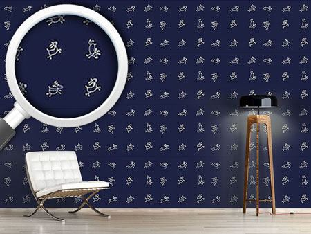 Design Wallpaper Playful Deer