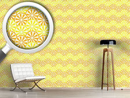 Papier peint design Lemon And Orange Slices