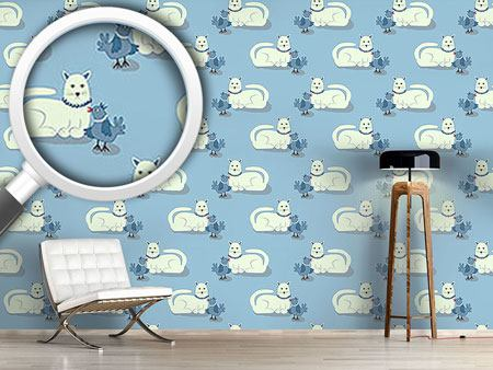 Design Wallpaper Animal Friends