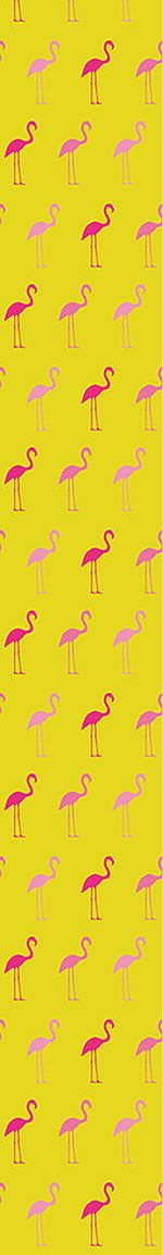 Designtapete Pretty Flamingo in Rose
