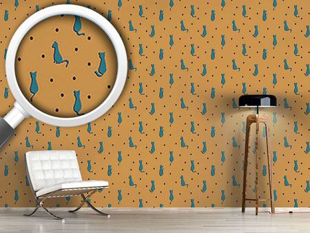 Design Wallpaper Furball Cats