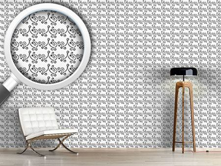 Design Wallpaper Early Curly