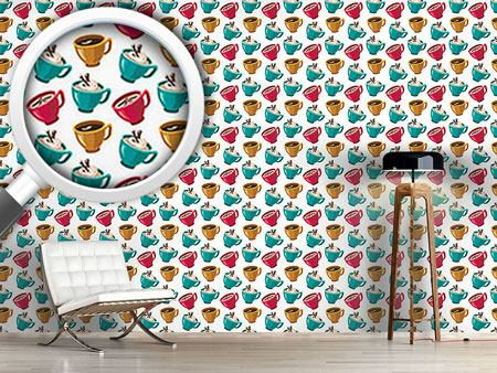 Design Wallpaper Cup Of Coffee