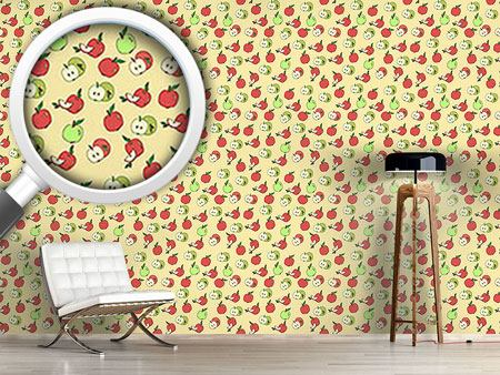 Papier peint design Choose An Apple