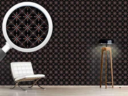 Design Wallpaper Dotted Sparkle