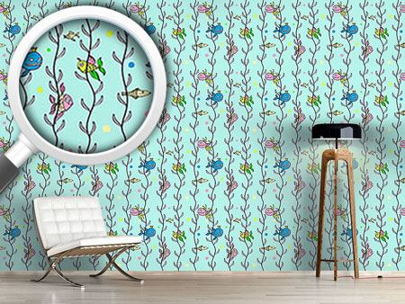 Design Wallpaper Underwater Hide And Seek