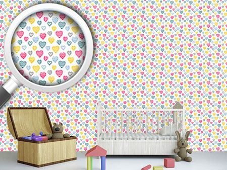 Design Wallpaper Heart Warming