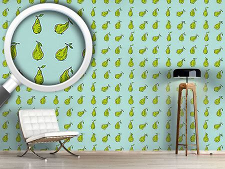 Papel tapiz de diseño Picking Pears