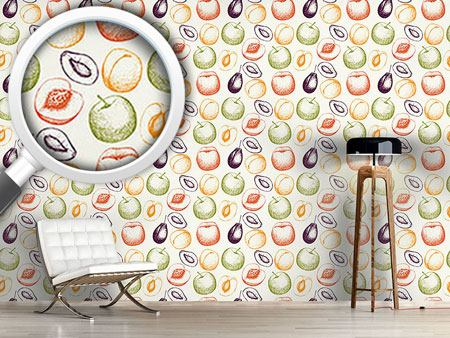 Design Wallpaper Fresh Fruits