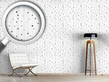 Design Wallpaper Stripes And Dots