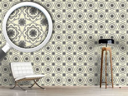 Design Wallpaper Circle Tendrillars