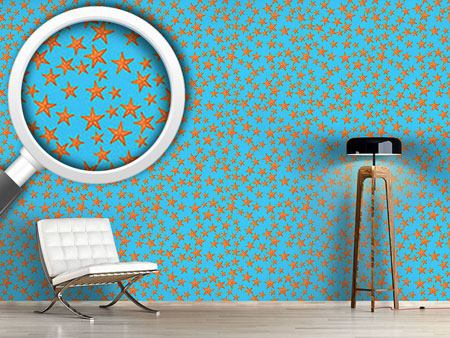 Design Wallpaper Starfish Fun