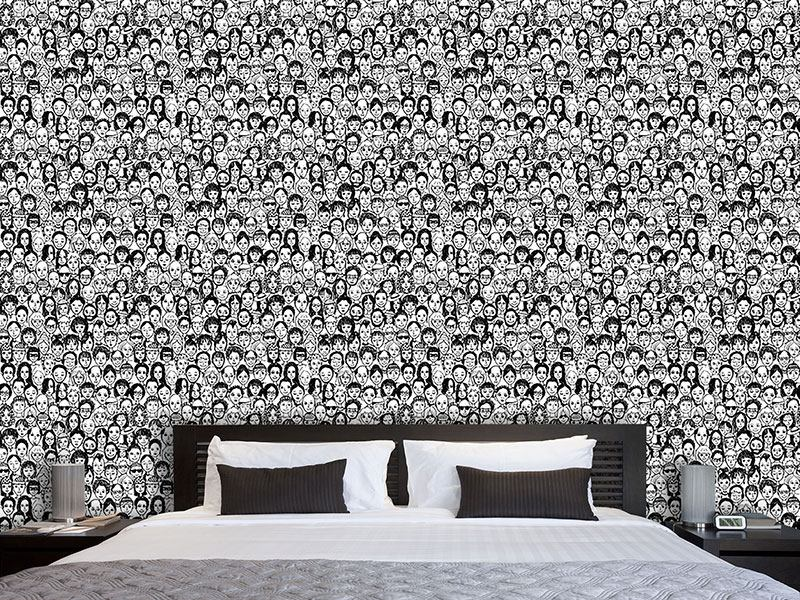 Design Wallpaper Happy People