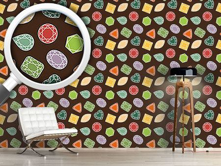 Design Wallpaper Precious Gems