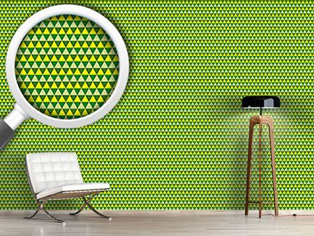 Design Wallpaper Triangles Showing The Way
