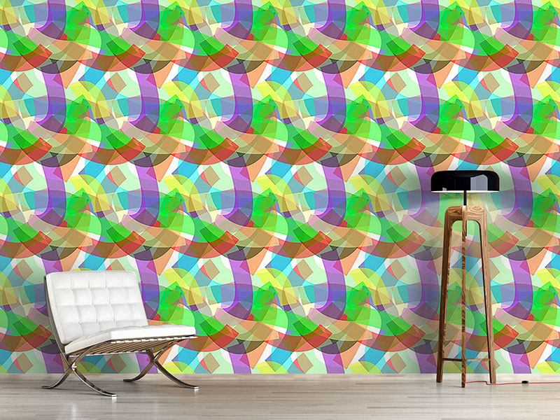 Design Wallpaper Freestyle Ribbons
