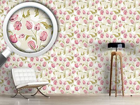 Design Wallpaper Tulips