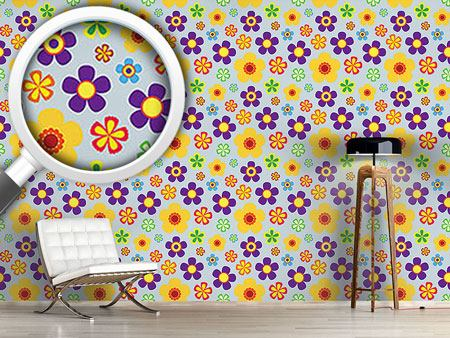 Design Wallpaper Flower Power In Spring