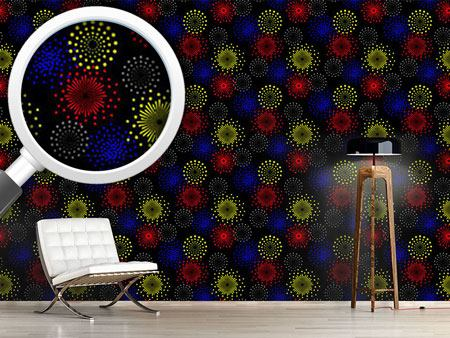 Design Wallpaper Spectacular Fireworks