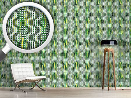 Papier peint design Waves In Harmony
