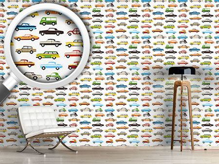 Design Wallpaper Retro Cars