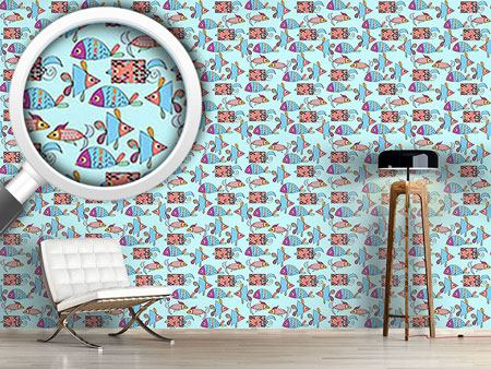Design Wallpaper Fantasy fish