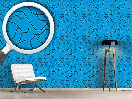 Design Wallpaper Abstract Water Snakes
