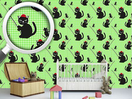 Design Wallpaper Cat-And-Mouse-Game