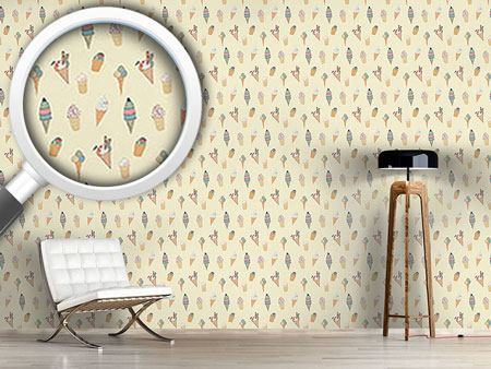 Design Wallpaper Ice Cream