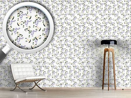 Design Wallpaper Forget Me Not Daisy