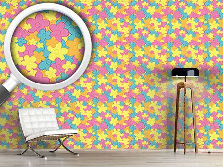 Design Wallpaper Floral Dance