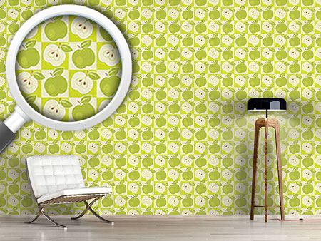 Design Wallpaper Apples To The Square