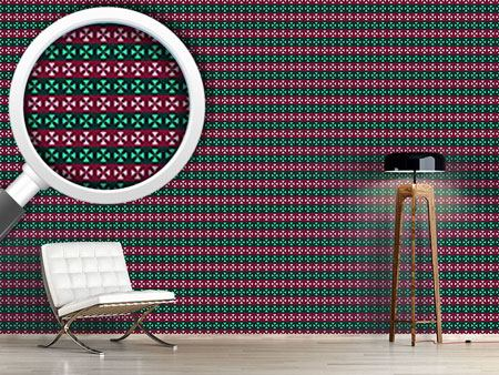 Design Wallpaper Cross Stripes