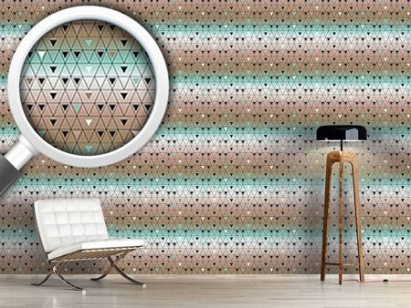 Design Wallpaper Different Sized Triangles
